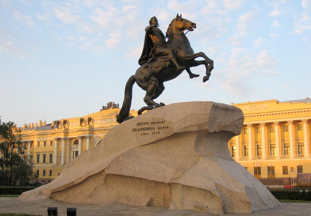 фото медный всадник памятник